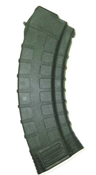 TAPCO AK-47 30 Round Mag, Black Polymer - 7.62x39 Caliber
