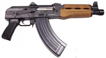 Yugo AK-47 Pistol Model PAP M92PV  7.62x39 caliber, Semi-Auto AK Type W / 1 - 30 Rd Mags
