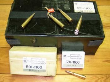 Swiss 7.5x55 174gr FMJ Ammo - 480rd Case