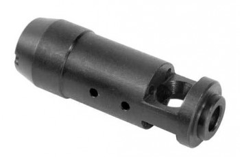 AK-74 Type Muzzle Brake for AK-47 7.62x39 caliber rifles.