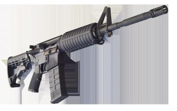 Bear Creek Arsenal AR-15 Rifle .223/5.56 NATO w/ M4 Barrel, Flat Top and Hard Case