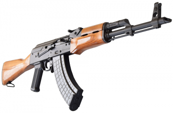 I.O. M247-C AK-47 Semi-Auto  Rifle U.S. Made 7.62x39 Caliber, Laminated Wood Stock, w/ 2 Mags, Scope Rail, Hard Case and Lifetime Warranty