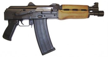 AK Type .223 Caliber Pistol PAP Model M85PV by Zastava Arms