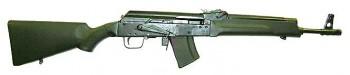 "Russian Saiga 5.45x39 Rifle w/ 16"" BBL"