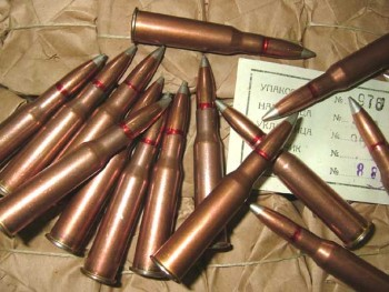 7.62x54r Surplus Silver Tip Ammo - 440rd Can