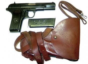 Romanian TTC Tokarev Pistol - 7.62x25 Excellent, with Accessories