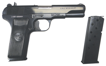 Zastava M70A Tokarev Type Semi-Auto Pistol, Cal. 9x19mm HG3182-N