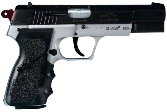 "Bulgarian Arcus 98DA 9mm 4.66"" 15+1 Two-Tone HG1014T-N"