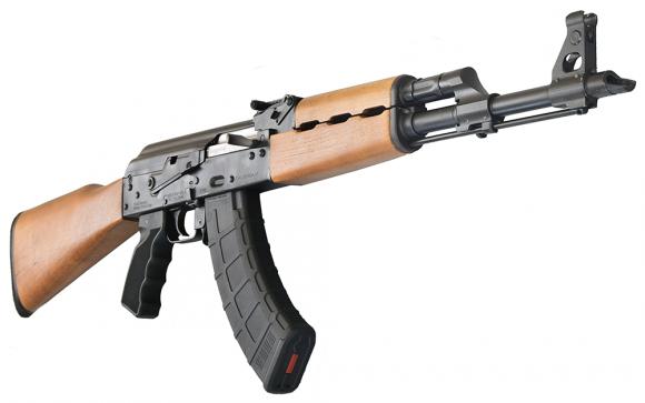 Yugo M70 AK Semi-Auto N-PAP Gen II Rifle, High Cap w/ Teak Wood Stock by Zastava Arms