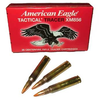 Federal XM856 .223 Tactical Tracer Ammunition - 20rd Box