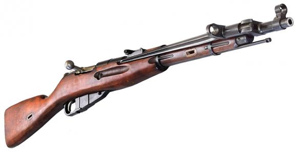 Russian M44 Mosin Nagant Rifle, 7.62x54R Caliber, Good / Very Good Surplus Condition  -  C & R Eligible