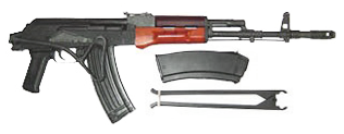 Polish Tantal AK Sporter Rifle- 5.45x39