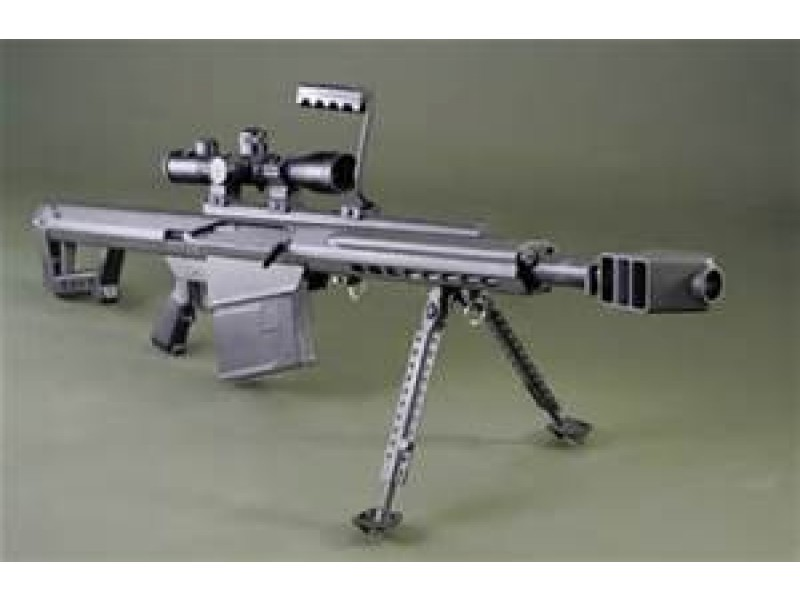"Barrett 82A1 50 BMG w/ 29"" Fluted Barrel Semi-Auto and Leopold ..."