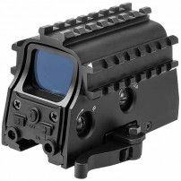 NcStar Tactical Green Dot Sight w/ 3 Rail System - D3ARSGQLR2