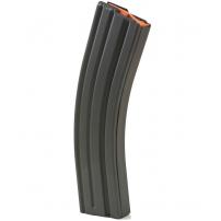 ASC AR-15 .223/5.56 40rd Magazines, Black Marlube Stainless Steel Body, Orange Follower