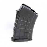 AK-47 7.62x39mm (10)Rd Black Polymer Magazine - AK 08, by ProMag Industries