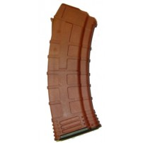 TAPCO AK-74 30rd Magazine, Burned Orange Polymer 5.45x39 F620281 Orange