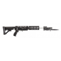 Archangel 556 Conversion Stock (Ruger 10/22*) - Black Polymer - AA556R, by ProMag