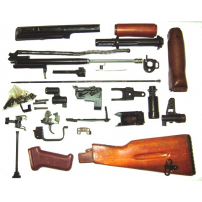 Bulgarian AK-74 Parts Set W/ Black Polymer Furniture