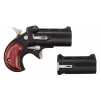 Cobra Derringer .22LR / .22Mag Over / Under with 2 Barrel Assemblies, Black / Rosewood, # C22BR-2BS