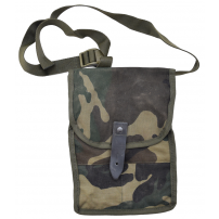 Original Military Surplus AK Mag Pouch, Holds 4 Mags - Camo