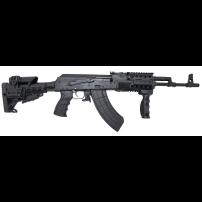 "Russian Saiga AK Style Rifle by Kalashnikov USA IZ132Z - 7.62x39, 16"" BBL, 30rd SYN"