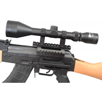 Nikko 50mm Scope Package w/ Quick Release Mount for AK Type Rifles with Side Rails