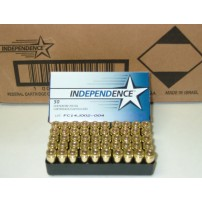 Independence Ammunition 9mm 115gr Jacketed Hollow Point Ammo - 50rd Box