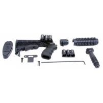 Mossberg 500/590 12 Gauge Collapsible (6) Position Stock w/ Pistol Grip - PM111F