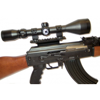 Barska / UTG 40mm Scope Package for AK Type Rifles with Side Rails