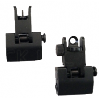 AR15/M16 Front And Rear Flip-Up Sight Combination - Imported - RS008