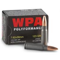 Wolf Polyformance 7.62x36 Hollow Point Ammo
