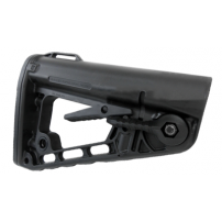 Rogers Super-Stoc Deluxe AR-15 Collapsible Stock (w/ QD Port) - Made in U.S.A. - ST-ROGERS
