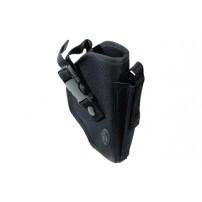 UTG Commando Pistol Belt Holster, Black, Universal Fit for Most Mid to Full Sized Pistols PVC-H270B