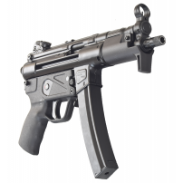 Zenith Z-5P Semi-Auto Roller Action Pistol, 9x19 mm, W / 3-30 Round Mags, by MKE Industries Turkey - HK MP5K w/ Threaded Barrel