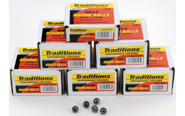 Revolver Round Ball Bulk Pack - .44 Cal 140gr 100rds - Traditions - A1647