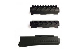 Archangel AK-Series OPFOR  Forend Set - Black Polymer - AA122, by ProMag