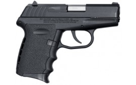SCCY CPX-2CB 9mm Polymer Frame Pistol, Black on Black, DAO 10+1 w/ 2 Mags