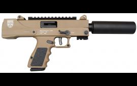 "MasterPiece Arms 30DMG Full Size Pistol 9mm Semi-Auto 5.5"" BBL W/ Fake Suppressor in Flat Dark Earth. MPA30DMG-FS-FDE"