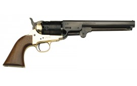 1851 Black Powder Navy Revolver .44 Cal Brass - Blued, by Traditions - FR18511 - Black Powder - No FFL Required.