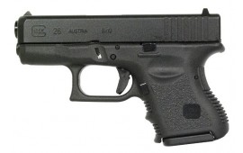 Glock 26 9mm SubCompact Handgun w/ FS and (2) 10 Rd Mags PI2650201