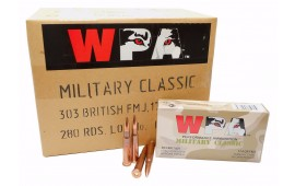 Wolf Polyformance .223 62gr FMJ Ammo - 500rd Case
