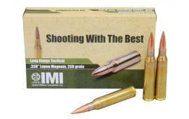 IMI .338 Lapua Magnum 250gr OTM Ammo IMI338LPM - 20rd Box