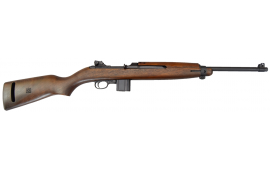 Inland Manufacturing  M1 1944 M1 carbine with a Type 2 barrel band and 10-round magazine.