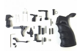 AR-15 Enhanced Complete Lower Parts Kit for Completion of AR-15 Stripped Lower Receiver
