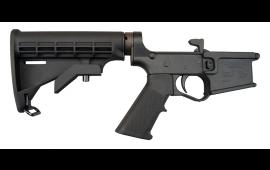 Plum Crazy AR-15 Lower Receiver - Black