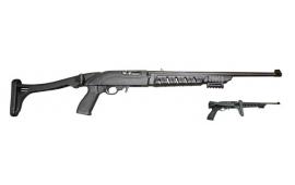 Ruger 10/22 Tactical Folding Stock - Black Polymer - PM272, by ProMag