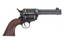 "1873 Single Action Revolver .45LC Frontier Model 4.75"" Barrel Color-Case Hardened, by Traditions - SAT73-002BEA"