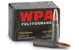 Wolf Polyformance 7.62x36 Hollow Point Ammo