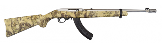 Ruger 10/22 Takedown 22LR Semi-Auto Rifle, Kryptek Highlander Camo w/ Stainless Barrel 11179